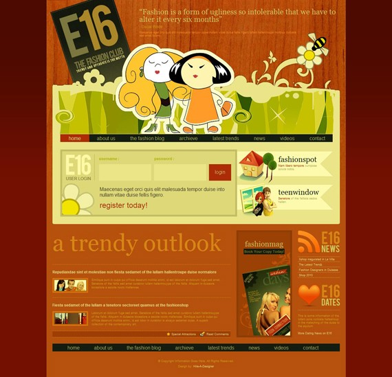 100 Fresh And Free xHTML Templates Of Year 2010 | jiaozhenqing