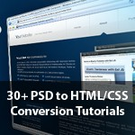 30+ Best PSD to HTML/CSS Conversion Tutorials