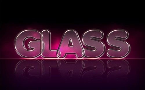how to add a bright glass effect in photoshop