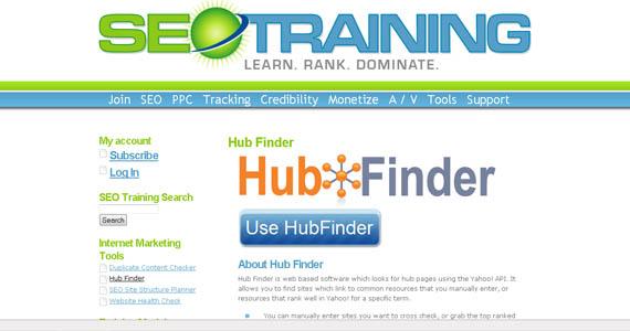 hubfinder link targets anyone