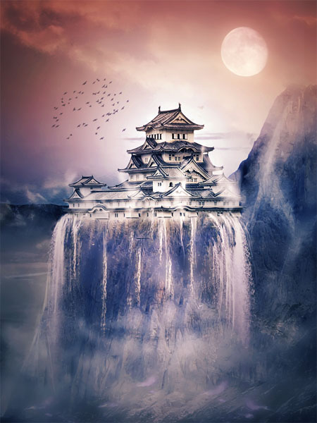 Japan-landscape-creatively-thrilling-photo-manipulations