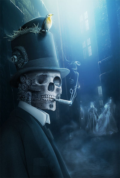 Steam-punk-old-london-memories-creatively-thrilling-photo-manipulations