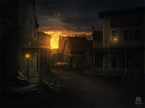 Wild-west-creatively-thrilling-photo-manipulations