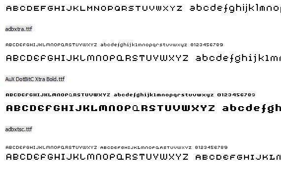 aux-dotbitc-free-pixel-fonts
