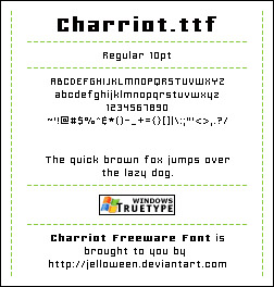 charriot-free-pixel-fonts