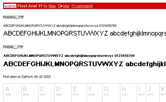 pixel-arial-free-pixel-fonts