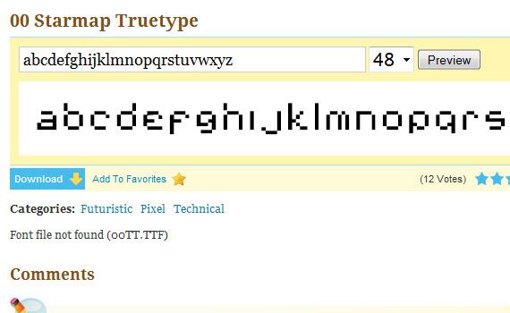 starmap-truetype-free-pixel-fonts