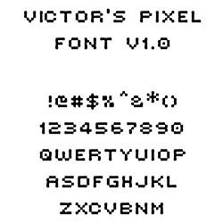 victor-pixel-font-free-pixel-fonts