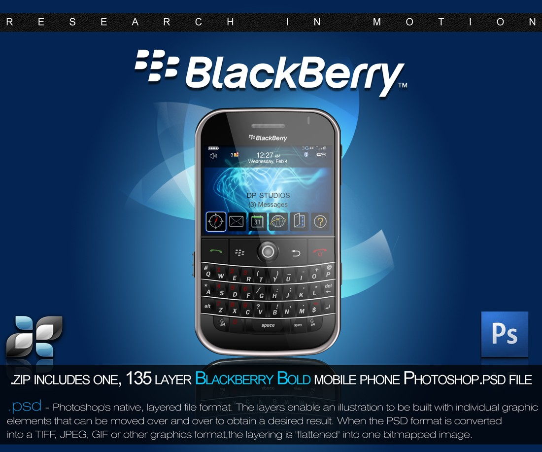 8. RIM Blackberry
