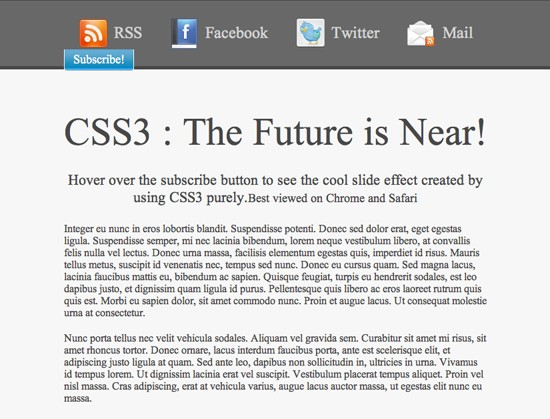 After the basic CSS has been applied to the HTML structure