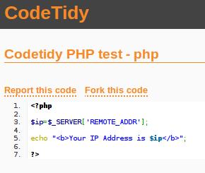 CodeTidy