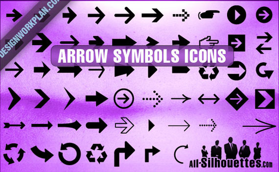 Arrow-symbol-icons-free-photoshop-custom-shapes