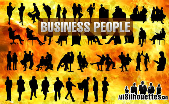 Business-people-free-photoshop-custom-shapes