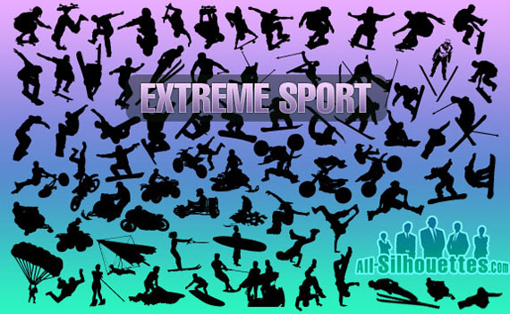 Extreme-sport-free-photoshop-custom-shapes