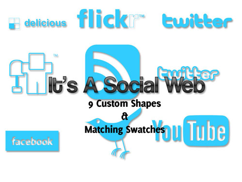 It-is-social-web-free-photoshop-custom-shapes