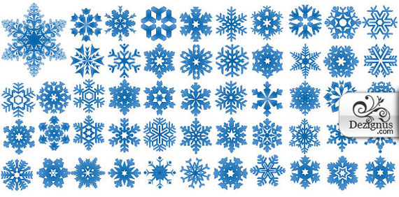 Snowflake-free-photoshop-custom-shapes