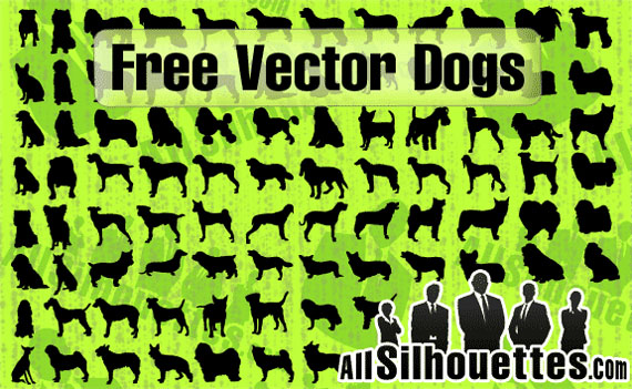 Vector-dog-silhouettes-custom-free-photoshop-custom-shapes