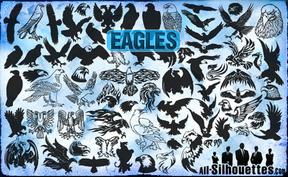 Vector-eagles-clipart-free-photoshop-custom-shapes