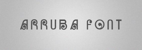Arruba-creative-decorative-free-font