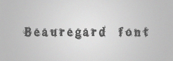 Beauregard-creative-decorative-free-font