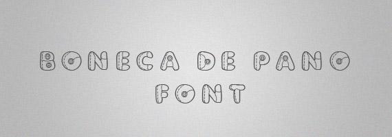 Boneca-creative-decorative-free-font