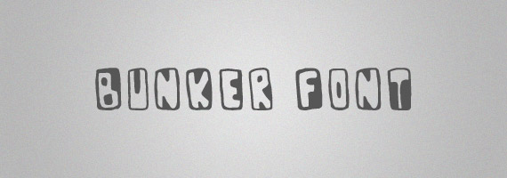 Bunker-creative-decorative-free-font