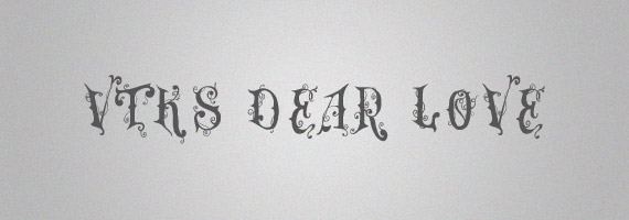 Dear-love-creative-decorative-free-font