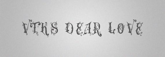 Dear-love-creative-decorative-free-font