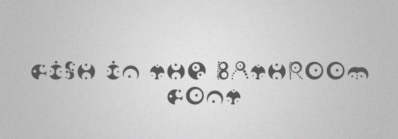 Fish-creative-decorative-free-font