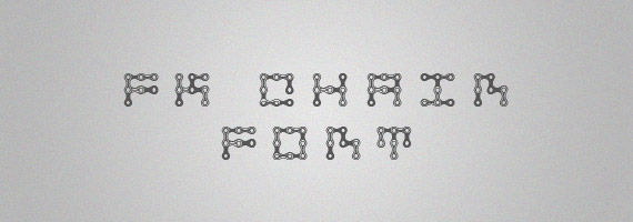 Fk-chain-creative-decorative-free-font