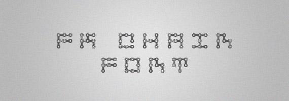 Fk-chain-creative-decorative-free-font