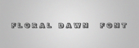 Floral-dawn-creative-decorative-free-font