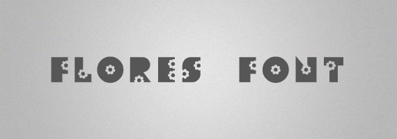 Flores-creative-decorative-free-font