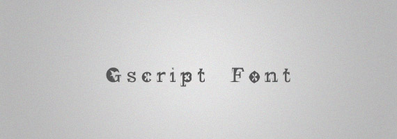 Gscript-creative-decorative-free-font
