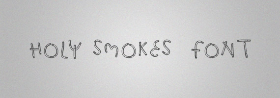 Holy-smokes-creative-decorative-free-font