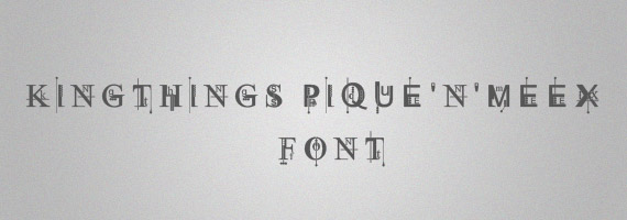 Kingthings-pique-creative-decorative-free-font