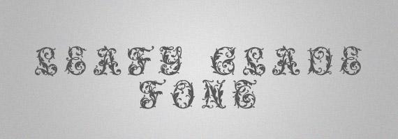 Leafy-creative-decorative-free-font