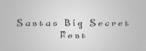 Santas-secret-creative-decorative-free-font