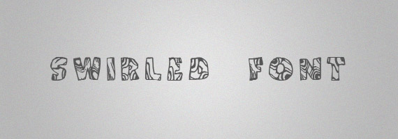 Swirled-creative-decorative-free-font