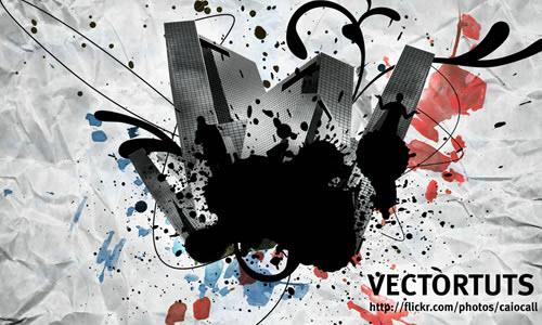 digital-collage-fireworks-tutorials-text-effects