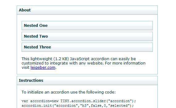 Tiny-javascript-jquery-accordion-menus-resources-tutorials-examples