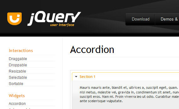 User-interface-jquery-accordion-menus-resources-tutorials-examples
