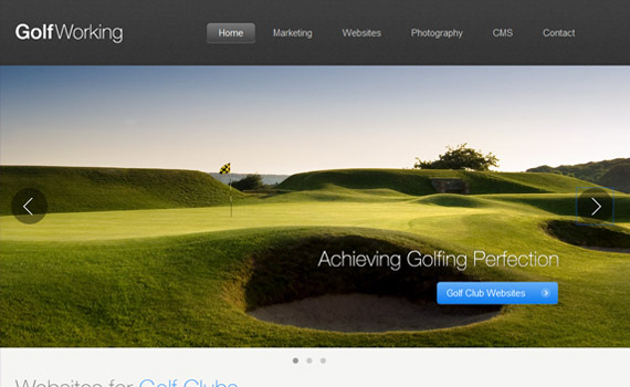 Golf-working-jquery-carousel-plugins-resources-tutorials-examples