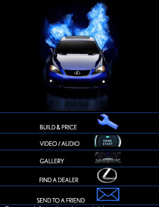 Lexus-isf-mobile-web-design-showcase