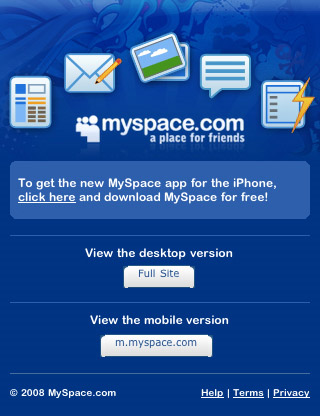 Myspace-mobile-web-design-showcase