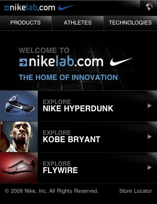 Nike-lab-mobile-web-design-showcase