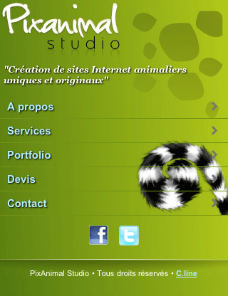 Pixanimal-mobile-web-design-showcase