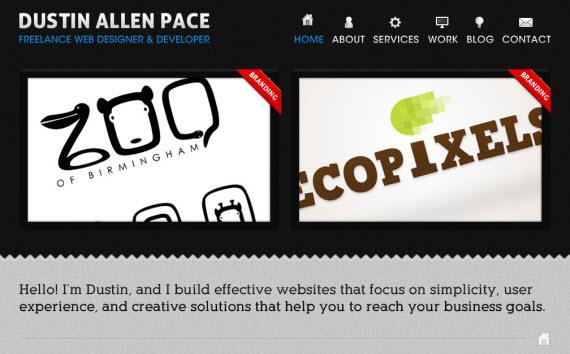 Dustin-allen-pace-minimal-trendy-webdesign-inspiration