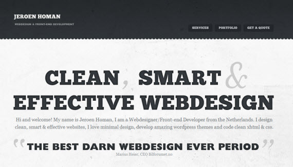 Jeroen-homan-minimal-trendy-webdesign-inspiration