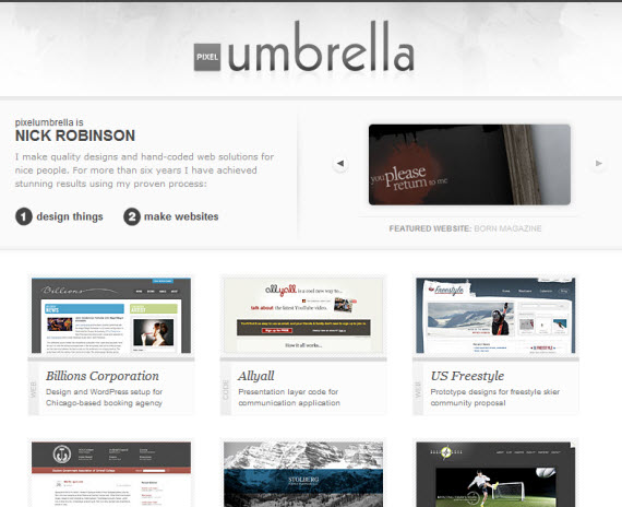 Pixel-mbrella-minimal-trendy-webdesign-inspiration